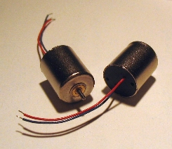 12V rated Mini Motors - Click for details