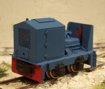 O&K RL1c open cab complete loco kit - Click for details