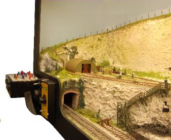 Click to see a bigger photo of the Chalk Pit 009 layout