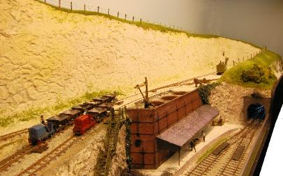 Click for a larger picture of the Chalk Pit 009 layout