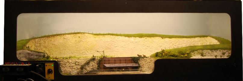Click for a larger photo of the Chalk Pit 009 layout